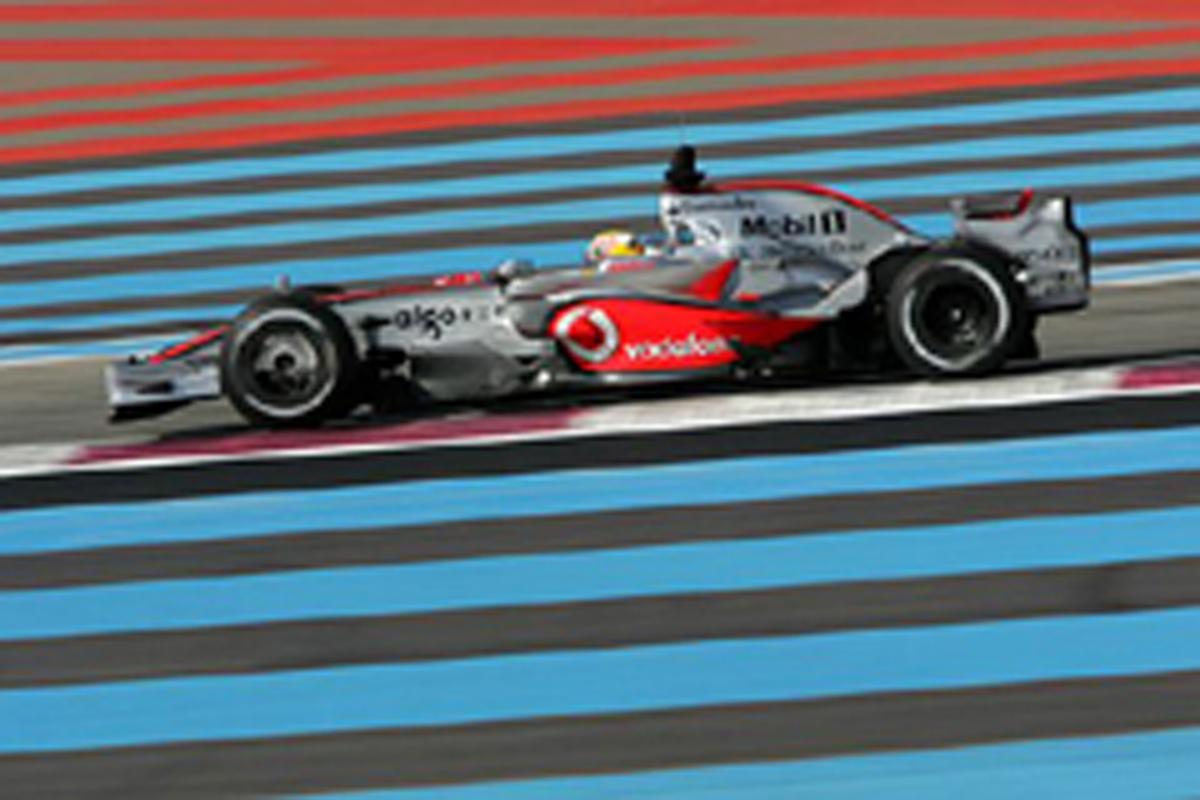 F1合同テストがポールリカールでスタート(画像)