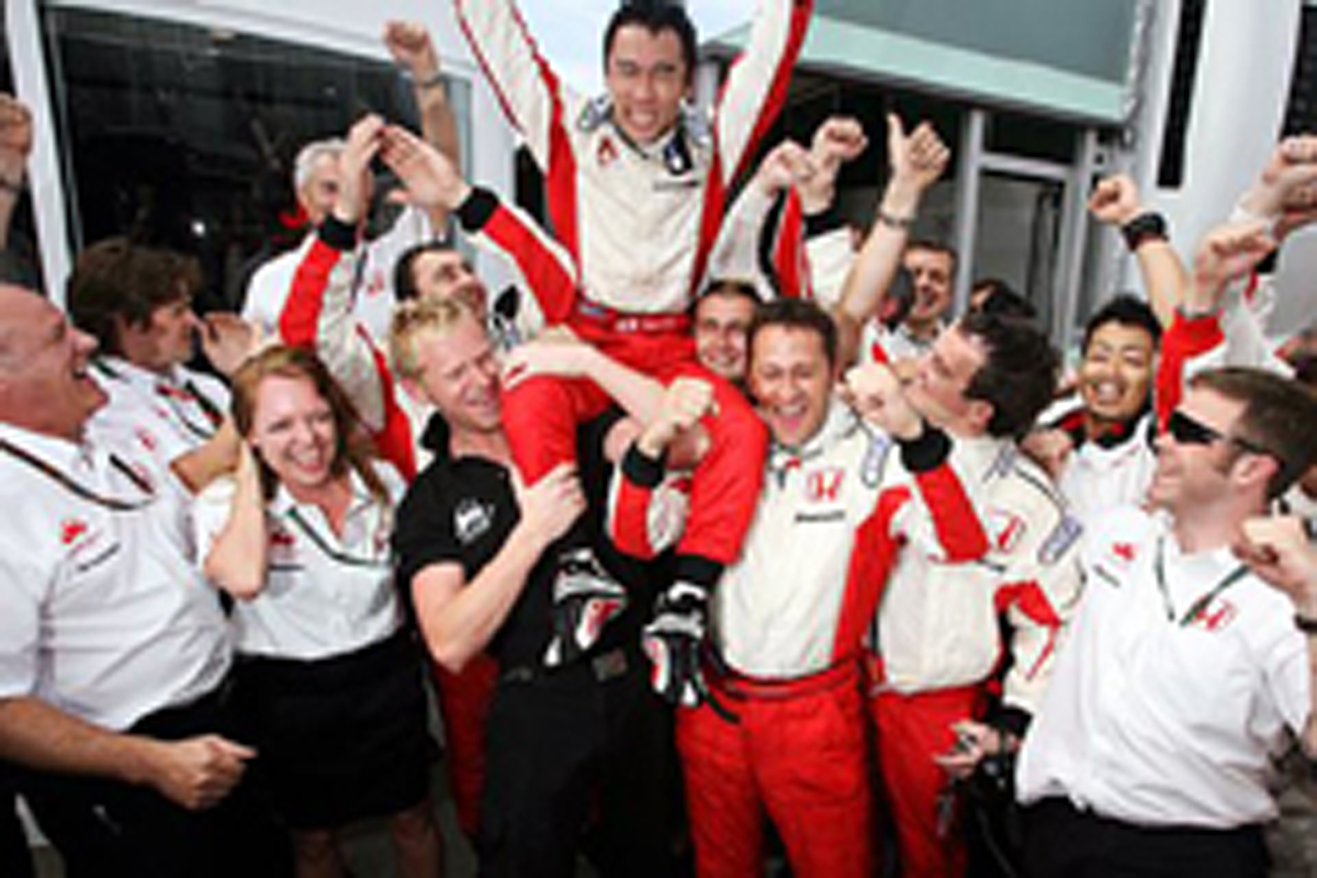 スペインGPでチーム初ポイントを獲得(2007年)