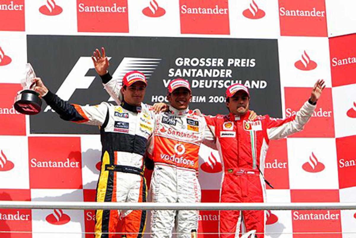 F1第10戦ドイツGP決勝 (ドライ...