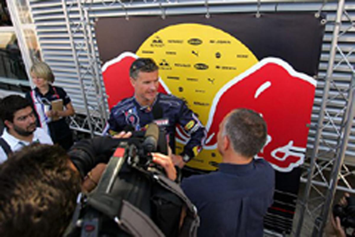 イタリアGPでの引退が噂されるデビッド・クルサード