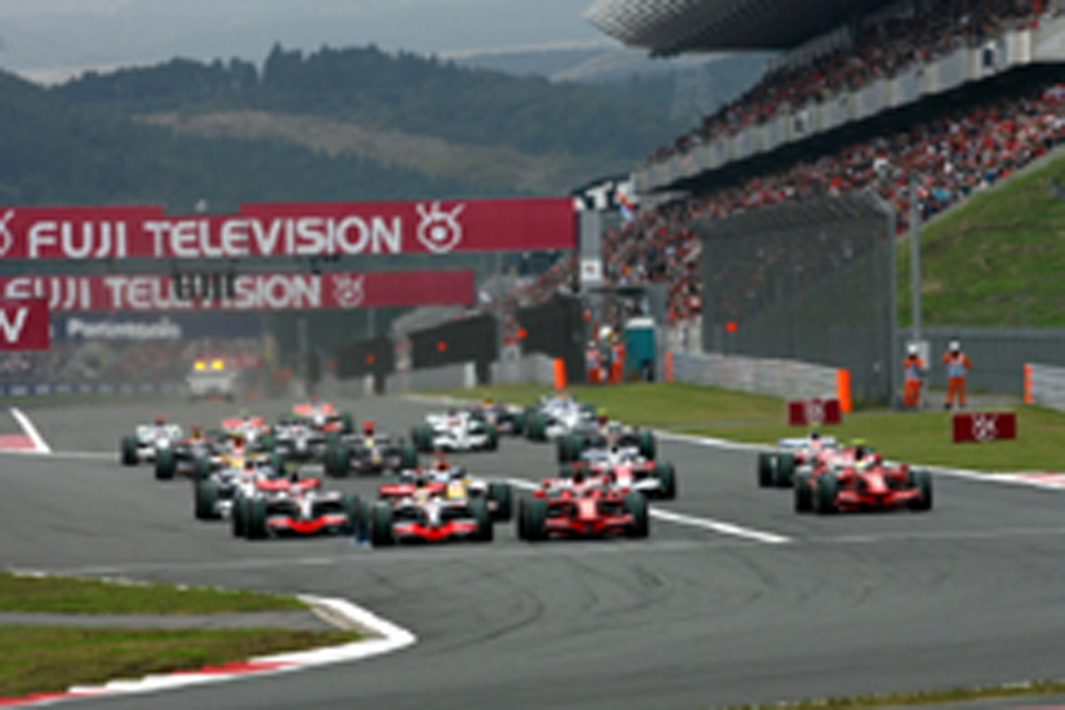 2008年 F1日本GP 入場者数