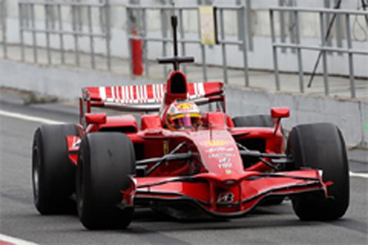 フェラーリ KERS搭載マシン F2008K