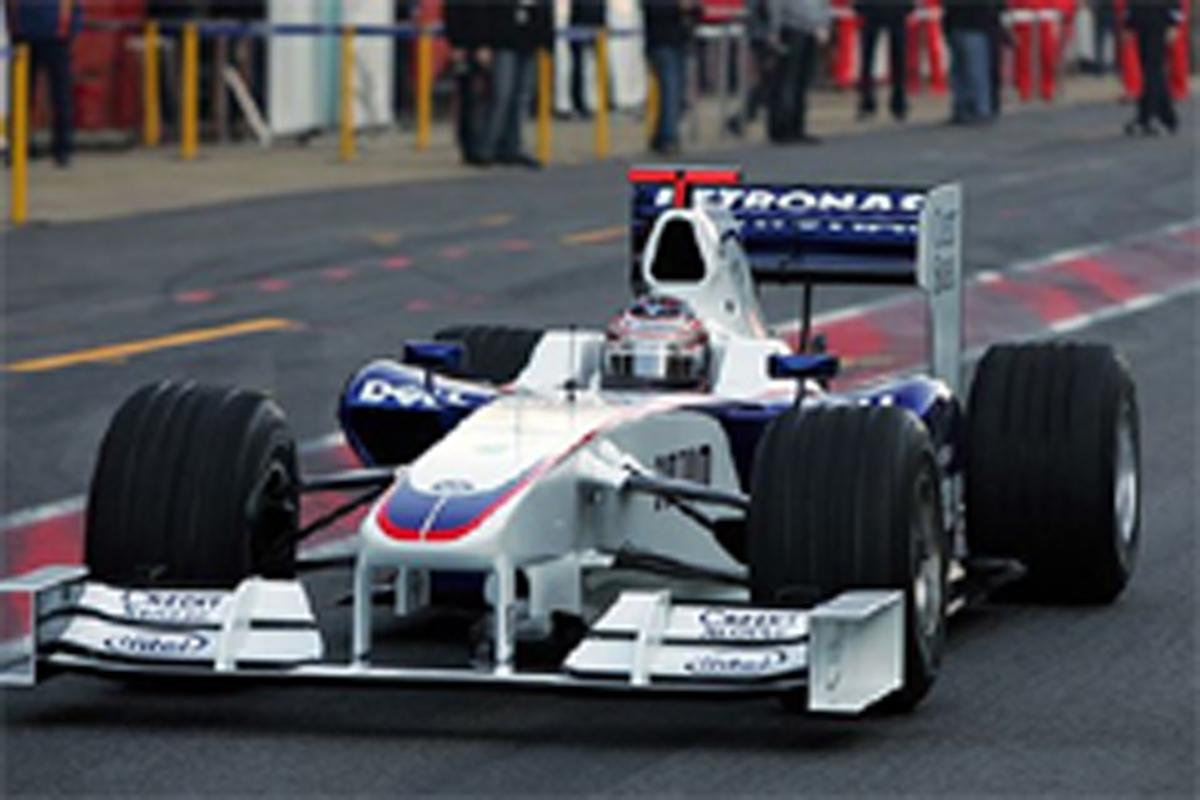 BMWの2009年暫定マシン F1.08B