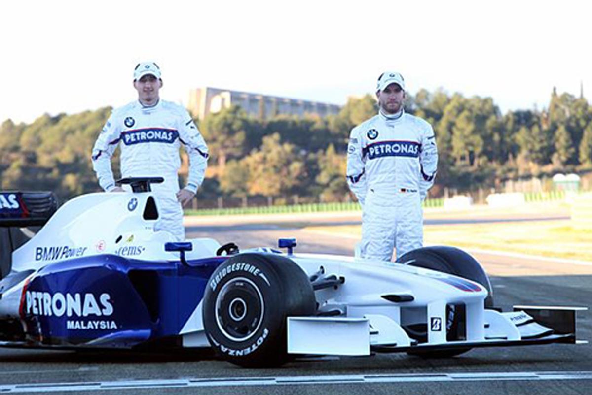 BMWザウバー F1.09 走行画像