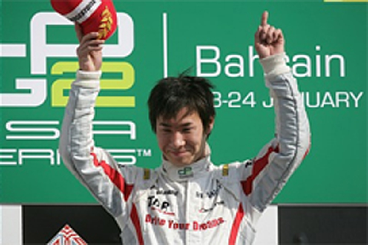 小林可夢偉、GP2アジアで今季2勝...