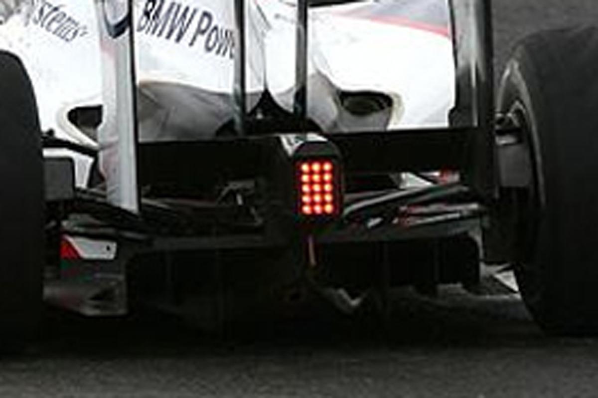 BMWザウバー F1.09 ディフューザー
