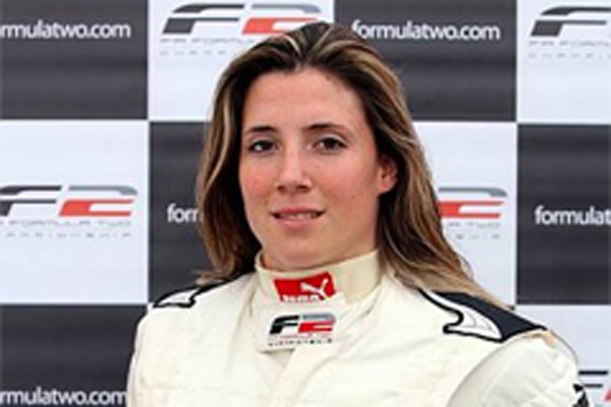 ナターシャ・ガシュナン 女性F1ドライバーを目指す