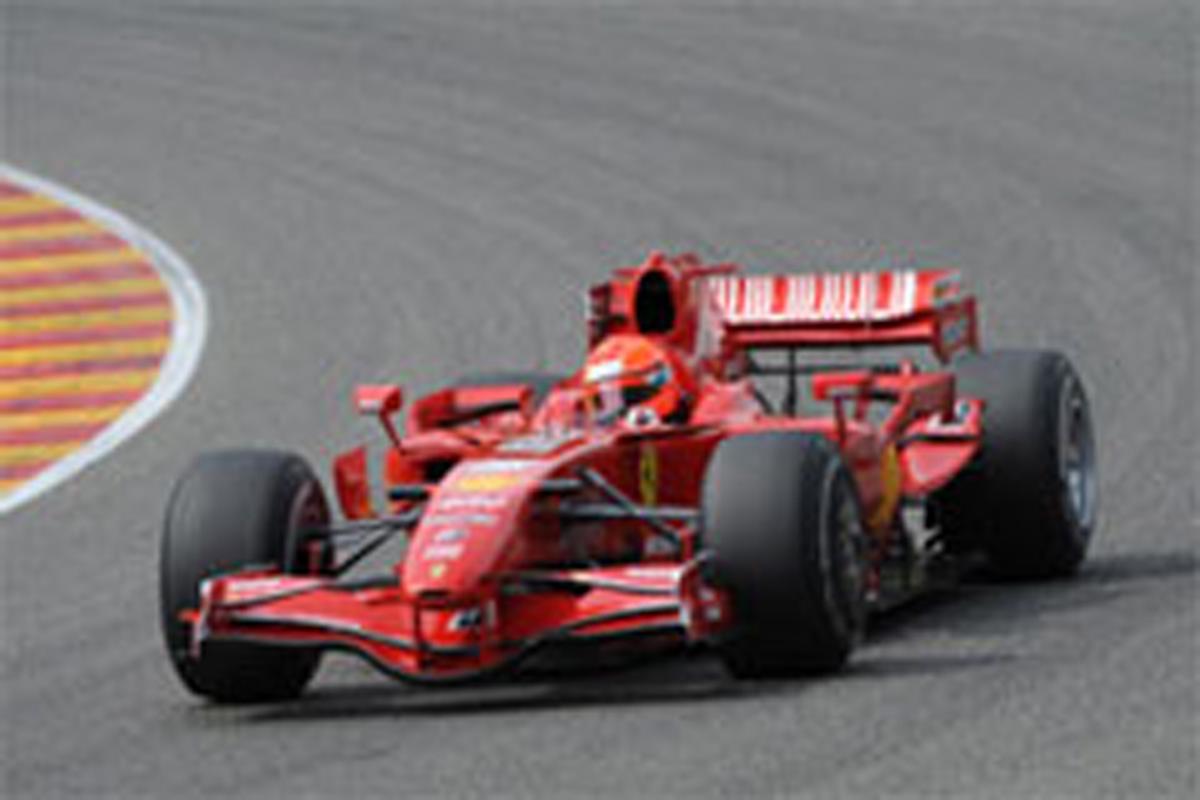 ミハエル・シューマッハ F2007