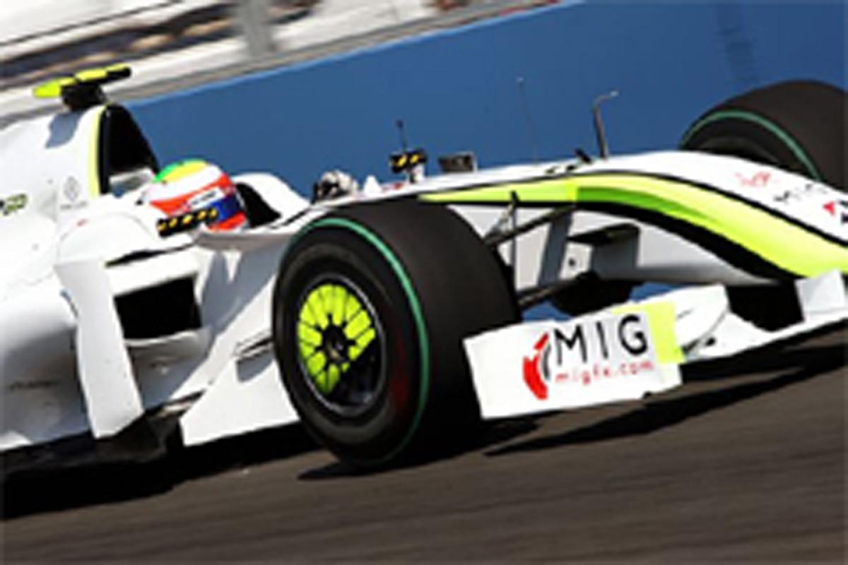 ブラウンGP F1ヨーロッパGP 初日