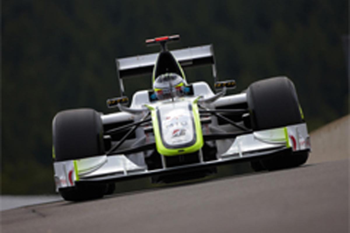 ブラウンGP F1ベルギーGP 予選