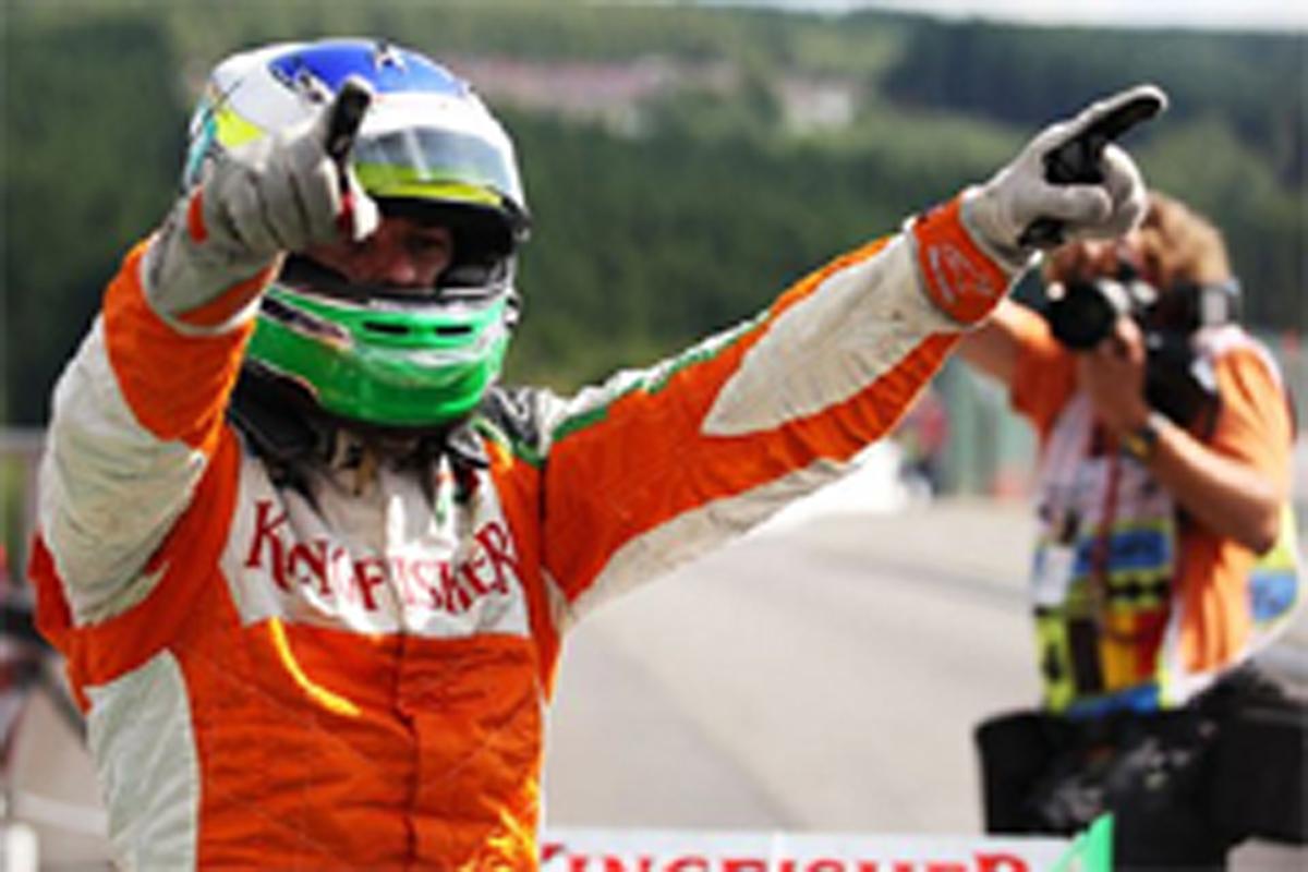 フォース・インディア F1 フィジケラ ポールポジション