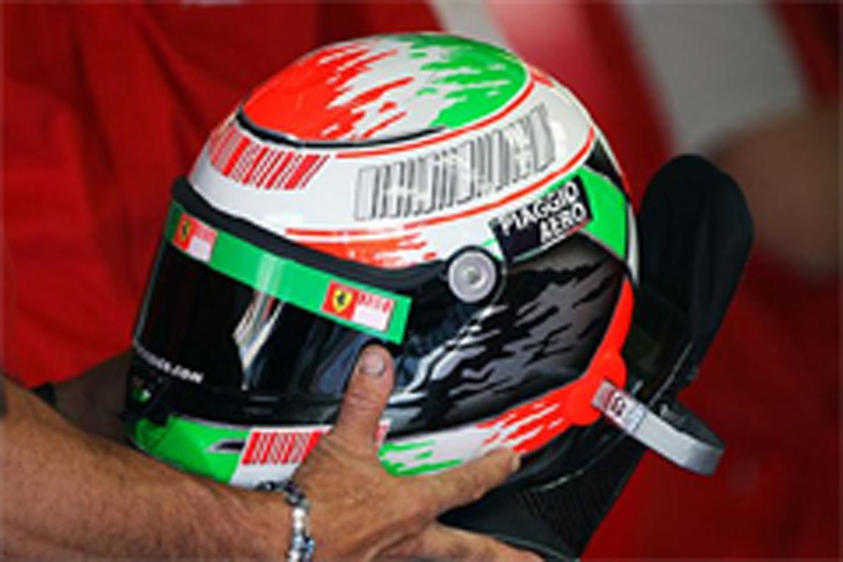 ジャンカルロ・フィジケラ ヘルメット フェラーリ