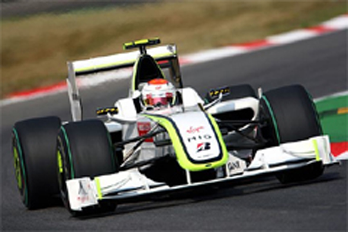 ブラウンGP F1 イタリアGP 予選