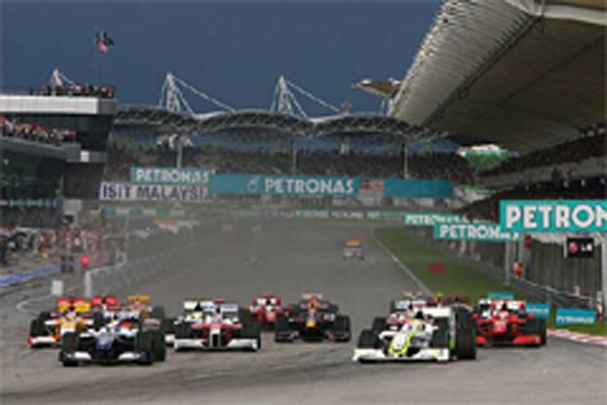 F1 2010年 スケジュール