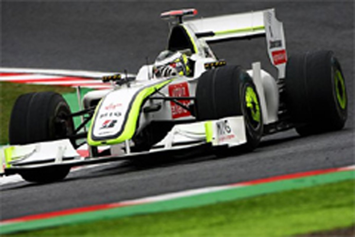 ブラウンGP F1日本GP 初日