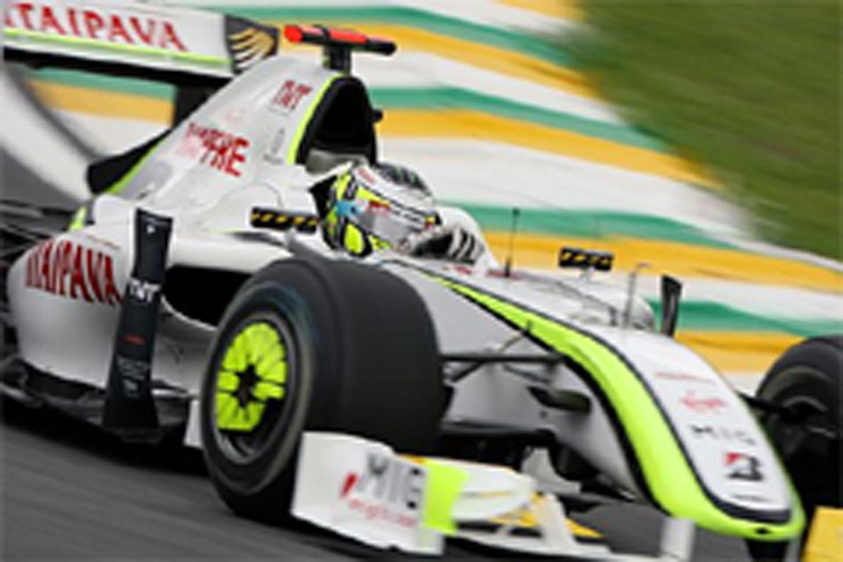 ブラウンGP(F1ブラジルGP初日)