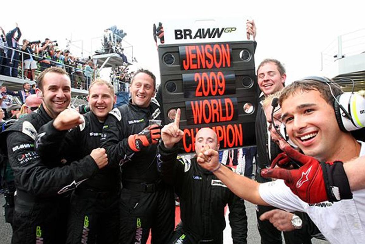 ジェンソン・バトン ワールドチャンピオン獲得 画像05