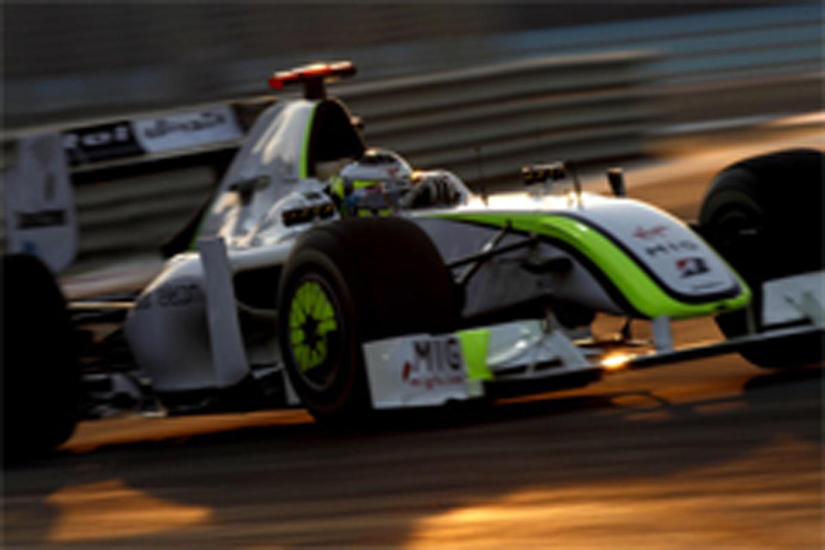 ブラウンGP F1アブダビGP 予選