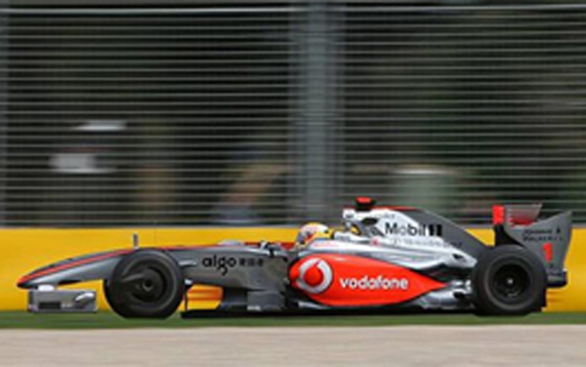 マクラーレンMP4/24 (オーストラリアGP)