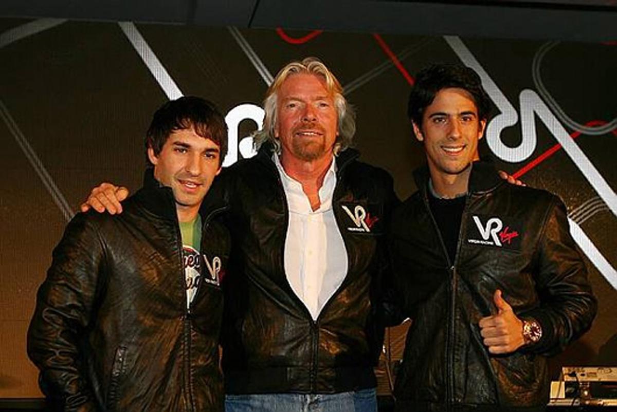 ヴァージン・レーシングのドライバー、ティモ・グロックとルーカス・ディ・グラッシ
