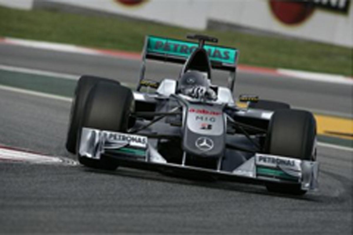 メルセデスGP 新車