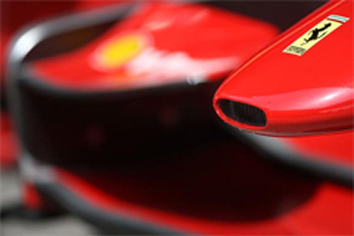フェラーリ F1 新車発表会
