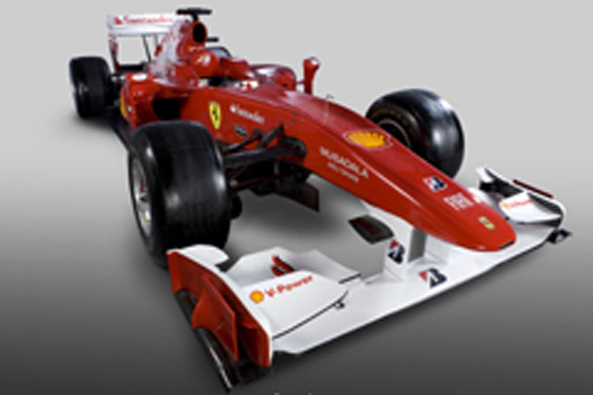 フェラーリの新車F10