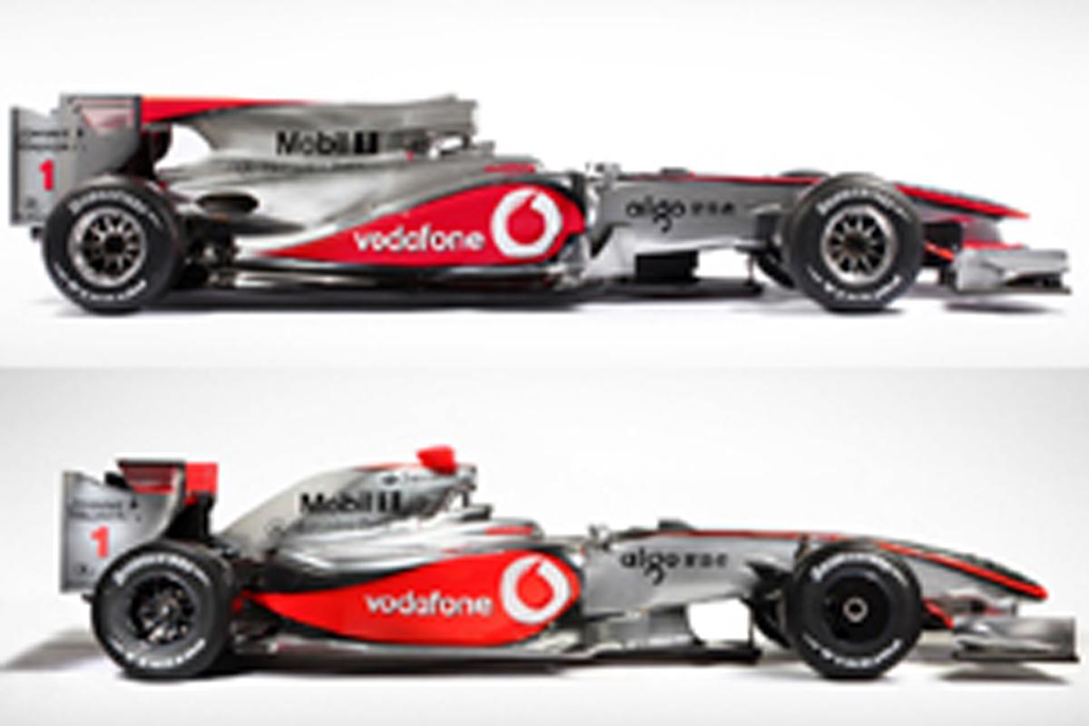 2010年F1マシン ロングホイールベース化