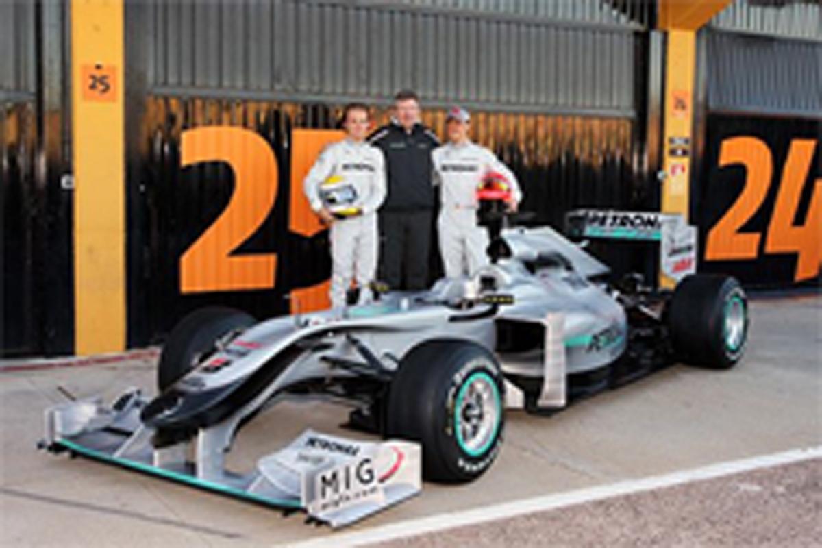 メルセデスGP MGP W01