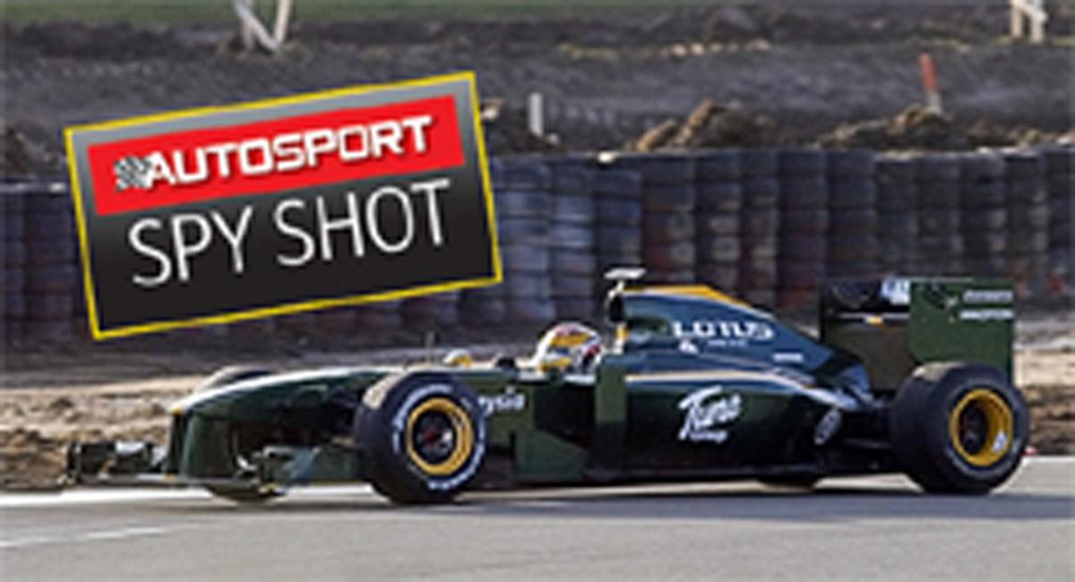 ロータス 2010年F1マシン