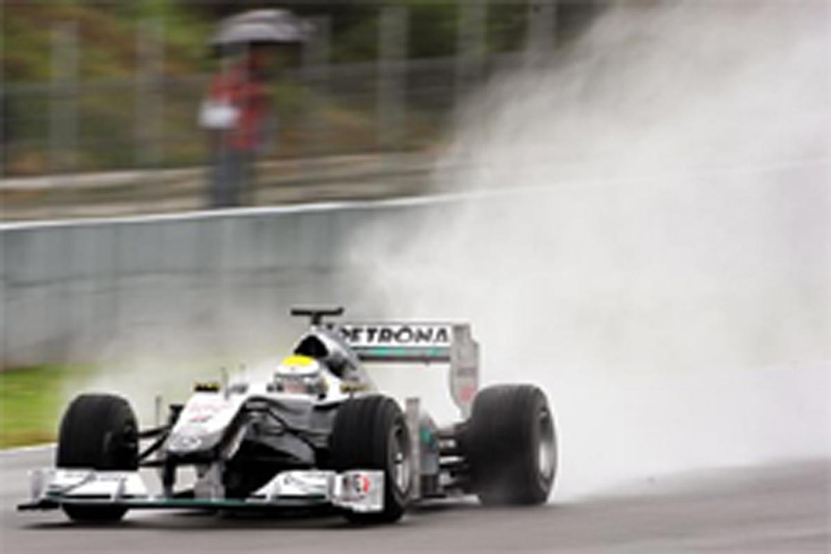 F1ヘレス合同テスト初日