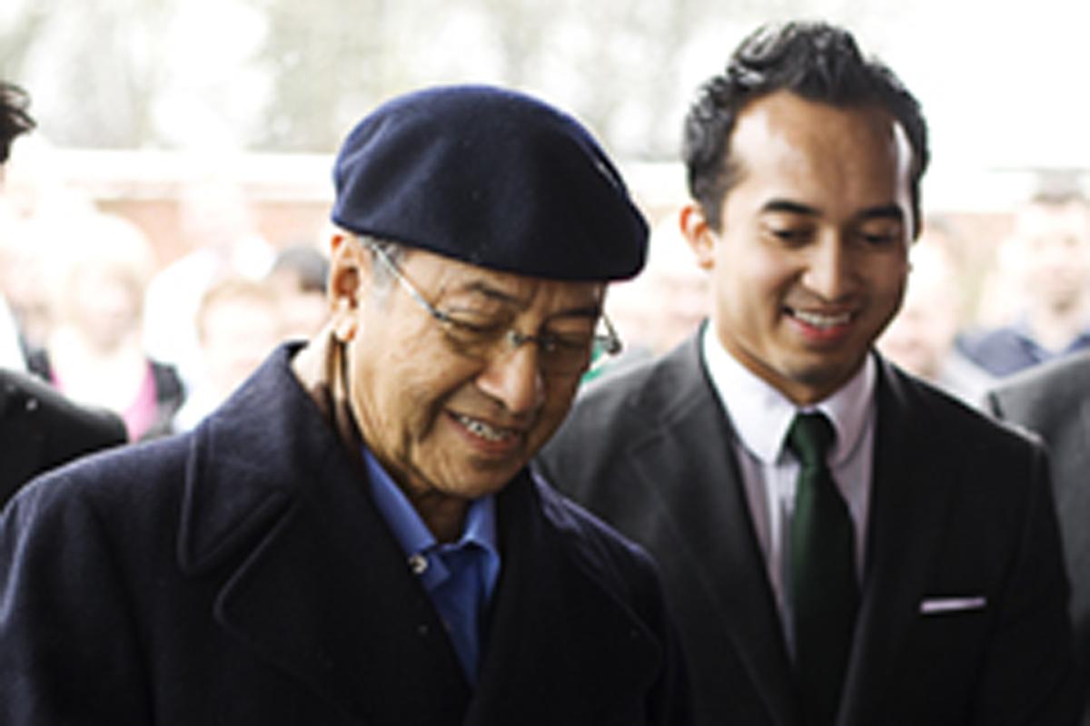 マレーシア元首相 トゥン・ドクター・マハティール