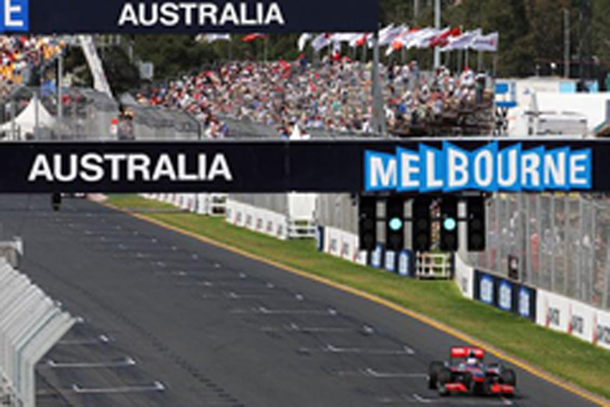 F1 オーストラリアGP フリー走行1回目