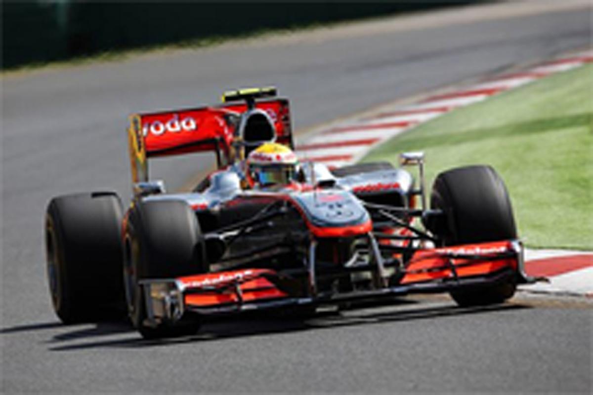 F1 オーストラリアGP フリー走行2回目