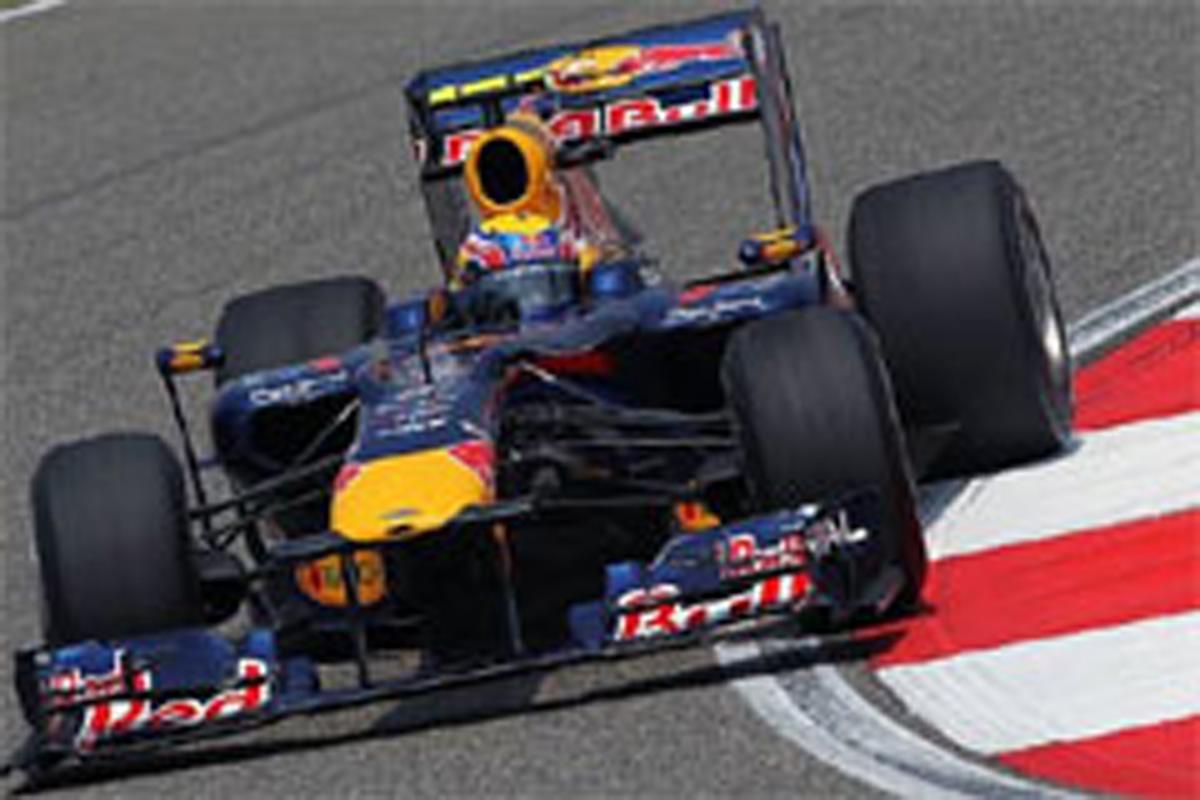 F1 中国GP フリー走行3回目