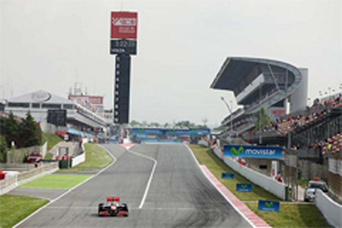F1スペインGP フリー走行1回目