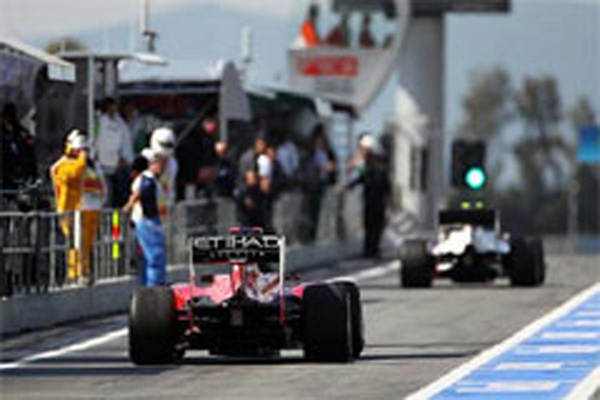 F1 予選