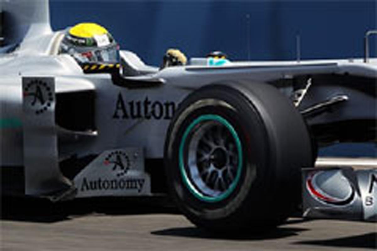 メルセデスGP F1ヨーロッパGP 予選