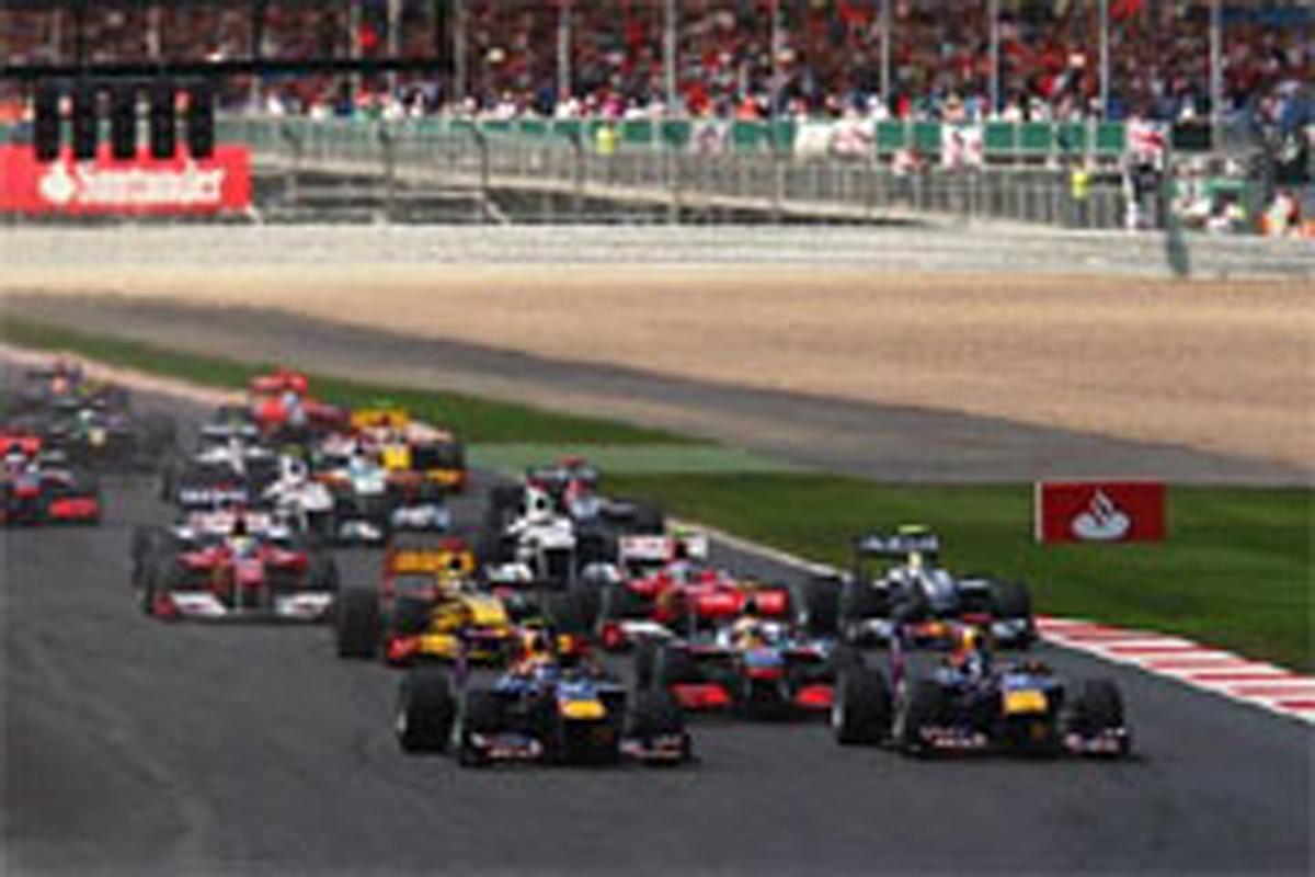 F1イギリスGP:優勝はマーク・ウ...