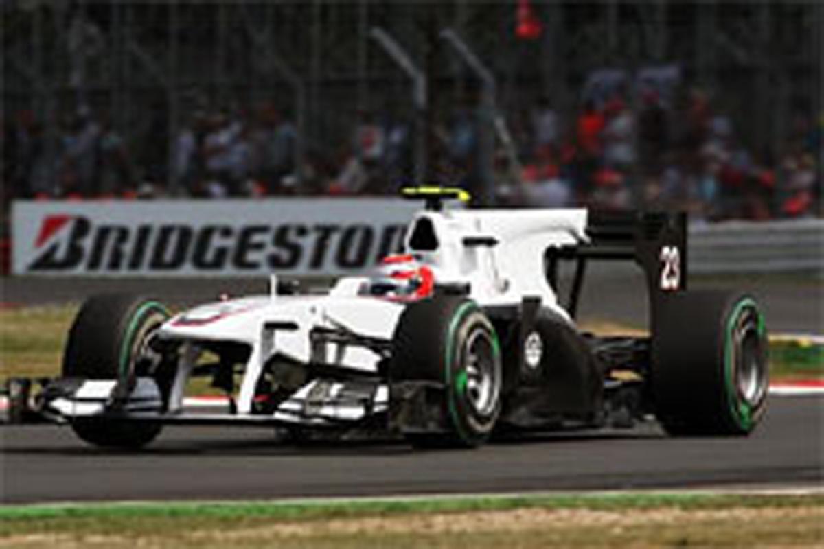 小林可夢偉 ザウバー F1イギリスGP