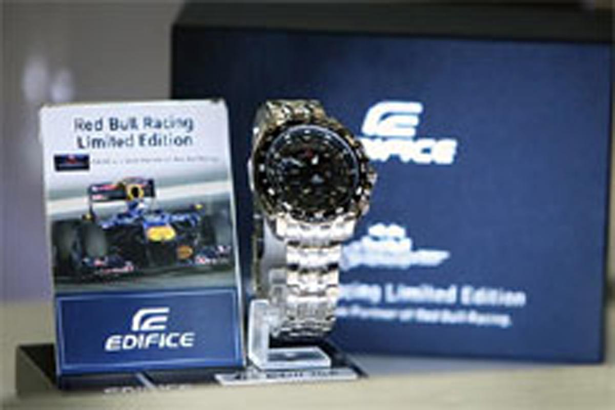 57168036de カシオ、レッドブル・レーシング・エディフィスの新製品を発表 【 F1 ...