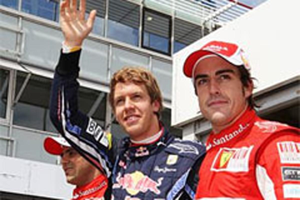ブリヂストン F1ドイツGP 予選