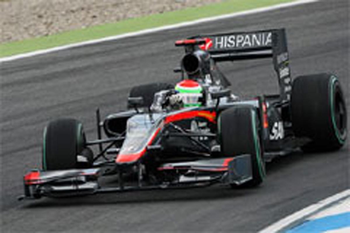 山本左近(ヒスパニア・レーシング) F1ドイツGP 予選