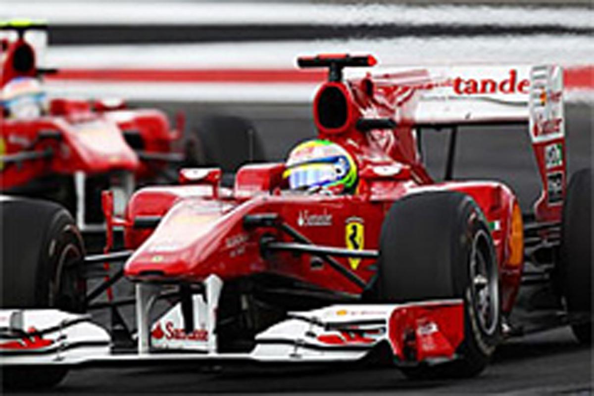 F1 チームオーダー フェラーリ