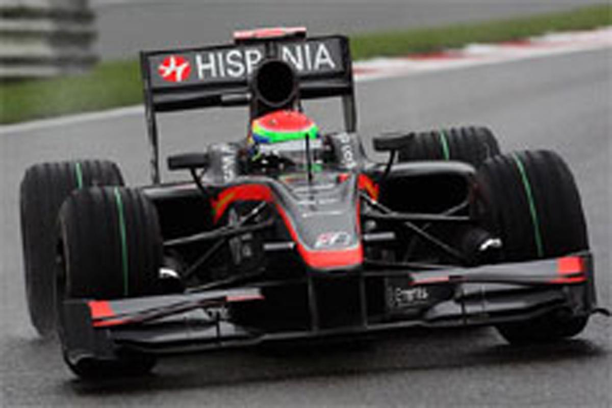 山本左近 (ヒスパニア・レーシング) F1ベルギーGP