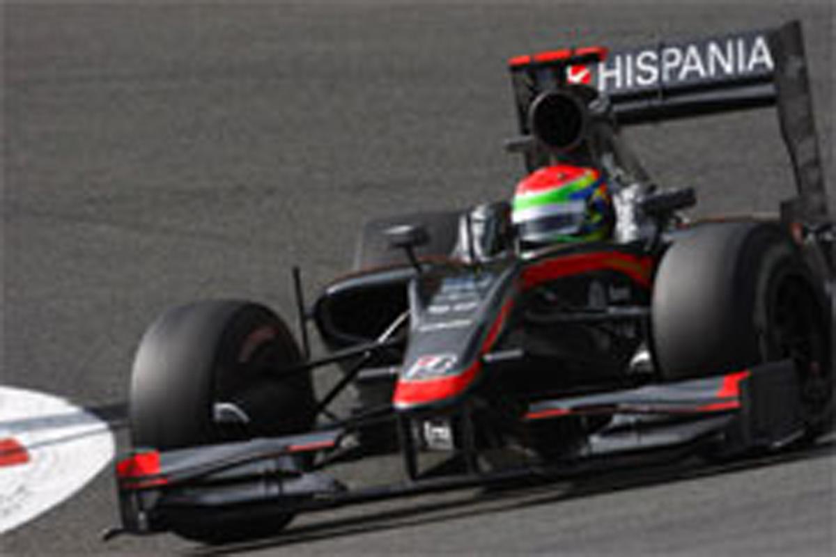 山本左近 ヒスパニア・レーシング F1ベルギーGP 予選