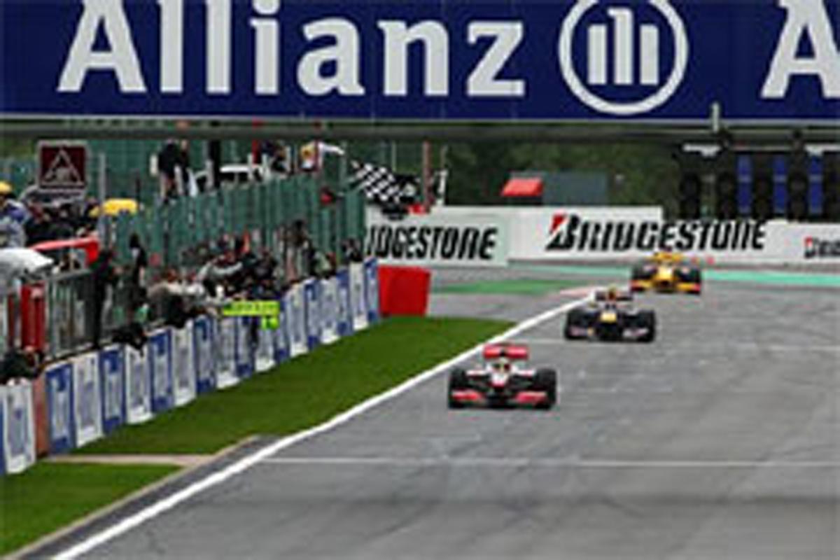 ブリヂストン F1ベルギーGP