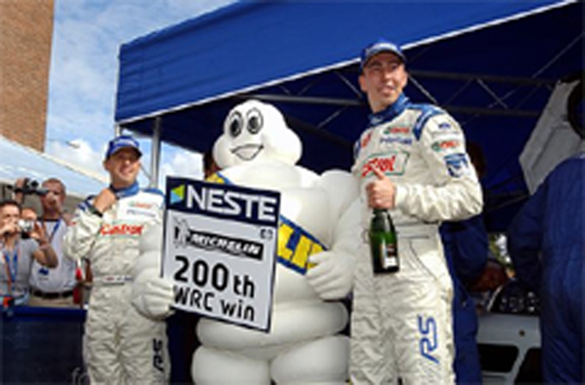 ミシュラン WRC