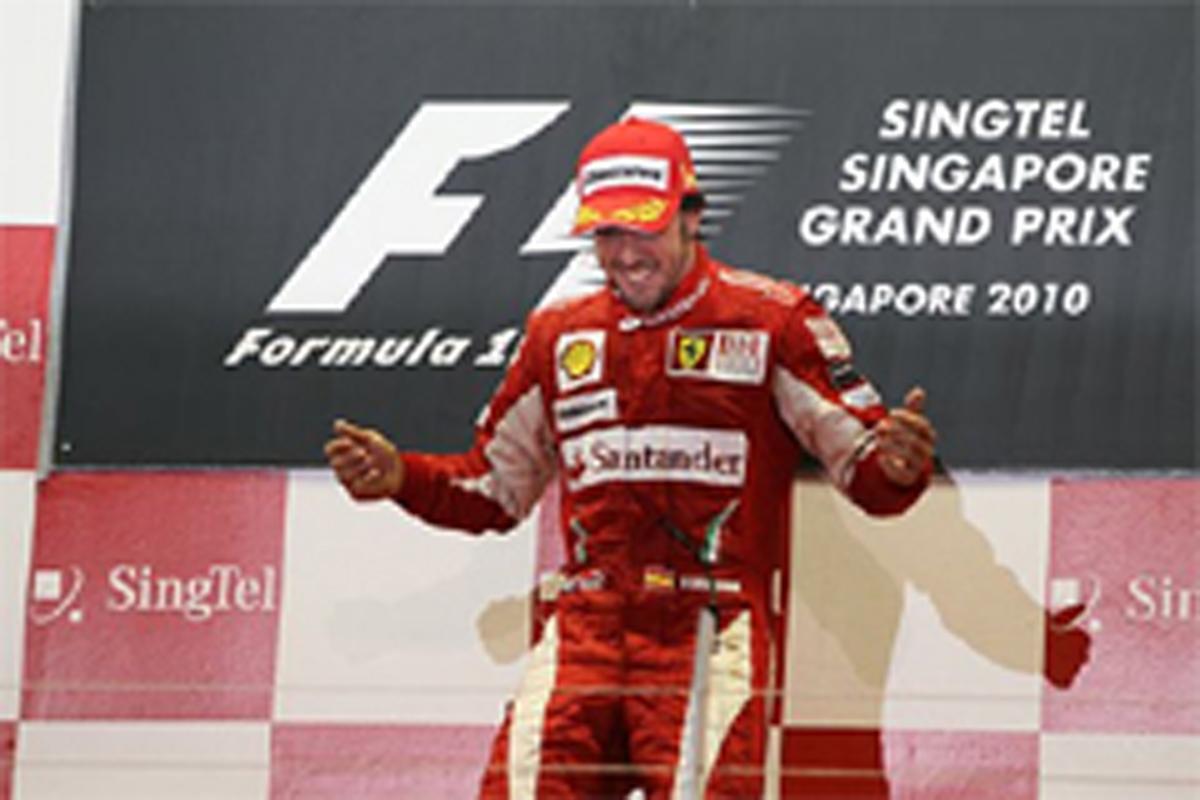 フェラーリ F1シンガポールGP 結果