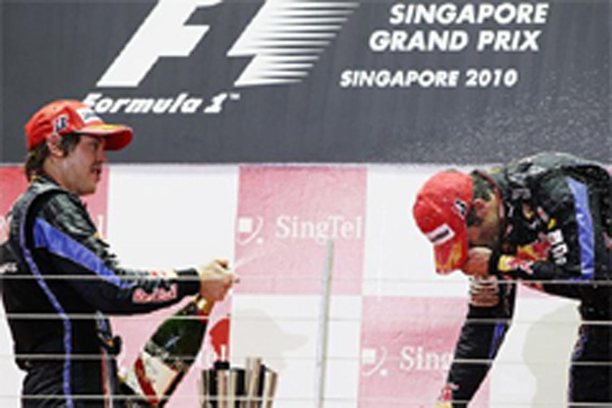 レッドブル F1シンガポールGP 結果